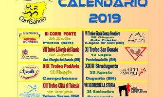 CALENDARIO CORRISANNIO 2019